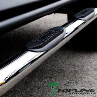 OVAL SIDE STEP NERF BARS running boards 99 13 CHEVY SILVERADO/SIERRA