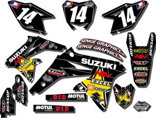 rm 85 graphics kit rm85 all years decals 09 08