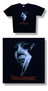 Halloween Michael Myers  NEW Mask Logo T Shirt  Small