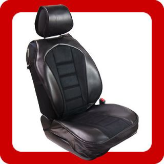 2Pc Front Car Seat Cover Cushion Compatible With Saturn 208 BK