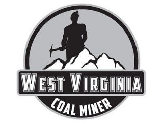 west virginia coal miner decal sticker 5