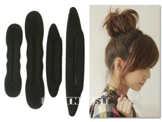 foam magic hair styling bun maker twist big small magic hair tool. Black Bedroom Furniture Sets. Home Design Ideas