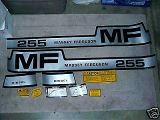 massey ferguson tractor 255 decal kit  42