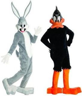 Looney Tunes  Supreme Ed. Bugs Bunny & Daffy Duck Costume Set Standard