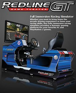 redline game theater full immersion racing simulator