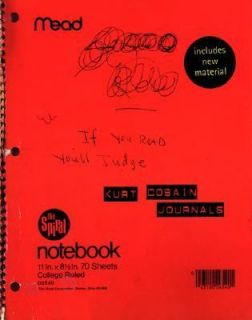 journals by kurt cobain 2003 paperback  3