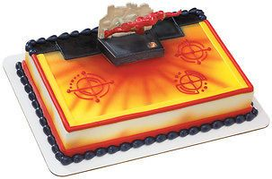 avengers iron man cake decoration kit topper light up time