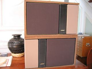 Bose 301 Series II Main Stereo Speakers Direct Reflecting Bookshelf