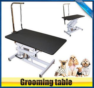 Pawhut Z Lift Hydraulic Adjustable Portable Pet Dog Cat Grooming Table