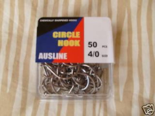 newly listed octopus circle hooks 4 0 box 50 pcs