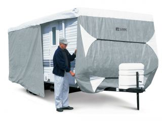 Classic Accessories PolyPro III Deluxe Travel Trailer camper Cover up