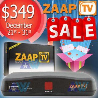 Receiver Arabic urkish Greek Channels Zaap V HD 309 + WiFi Dongle