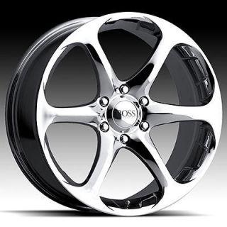 20 x8 5 boss 318 3186 chrome wheels rims 5