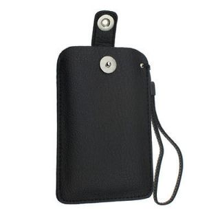 PU LEATHER PULL TAB CASE COVER POUCH FOR Nokia Asha 311 /306 /305 /302