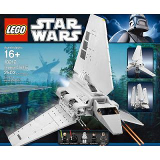 Newly listed STAR WARS LEGO RETIRED IMPERIAL SHUTTLE #10212 NIB