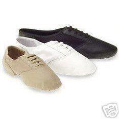 capezio 358 split sole jazz dance shoes tan 2 m kids