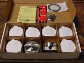 Newly listed Chevy 454 BBC 496 509 Stroker Probe Forged Pistons 060