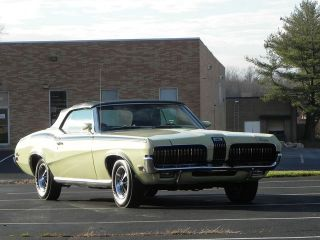 Mercury  Cougar XR 1970 Cougar XR 7 Convertible with full Marti