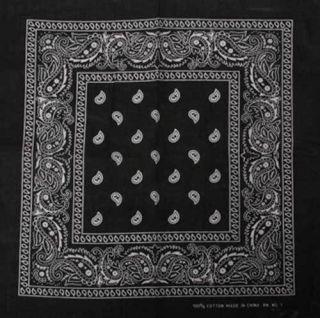 solid black bandana in Unisex Clothing, Shoes & Accs