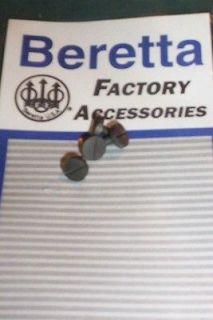 BERETTA FACTORY 92 92F 92FS M9 96 NEW *GRIP SCREWS* NP3 FINISH 90