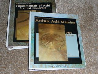Newly listed Gaye Goodman 2X Fundamentals & Artistic Acid Stained
