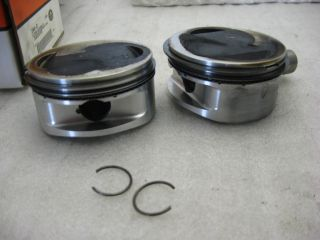 Genuine Harley Screamin Eagle Pistons for 1550 cc Twin Cam 1999 2006