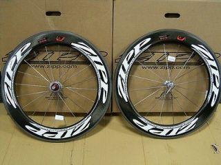 NEW ZIPP 2011 808 Carbon Clincher FireCrest Road Bike Wheelset Cycling
