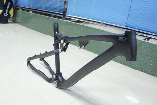 26 full suspension carbon fibre mtb frame cfcf001 more options