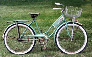 Vintage Shelby Traveler Model S 23 Ladies Bicycle Bike   1951