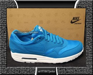 Nike Mens Air Max 1 Dynamic Blue White 308866 444 US 6~12 navy