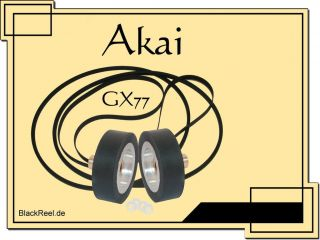 Service Kit for Akai GX 77 GX77 GX 77 Reel to Reel Tape Recorder