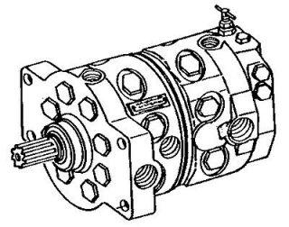Re manufactured Hydraulic Pump for John Deere 740A Log Skidder