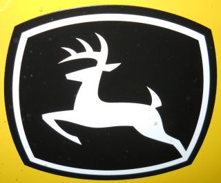 John Deere leaping deere Decal for 42 44 46 47 54 59 snowblowers