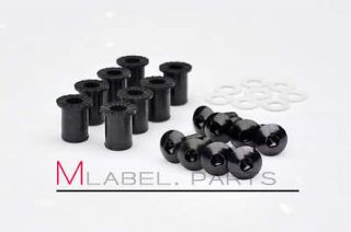 Newly listed BLACK WINDSCREEN WINDSHIELD FAIRING BOLTS SCREWS WELLNETS
