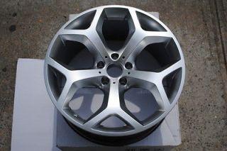 20 X5 Y Spoke Style BMW Hyper Silver Wheels Rims Staggered fit X5 X5