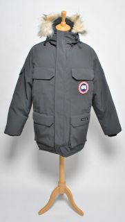 canada goose expedition parka grey size medium