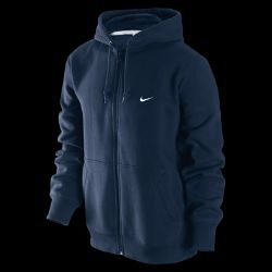 Nike Classic Fleece Full Zip Mens Hoodie