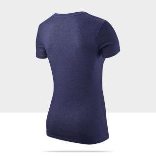 Nike Dri FIT Slim Graphic Womens Training T Shirt 485342_424_B