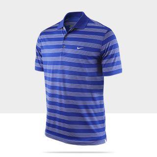 Nike Tech Stripe Mens Golf Polo Shirt 452506_471_A