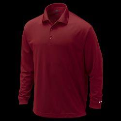 Nike Dri FIT Tech Long Sleeve Mens Golf Polo