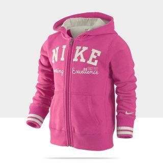Felpa con cappuccio Nike YA76 Campus 3A 8A   Bambina 481410_684_A