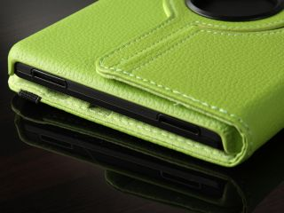 in 1 Rotate PU Leather Case Smart Cover Stand for  Kindle Fire 7
