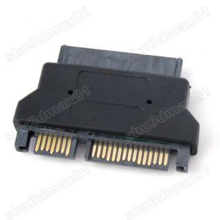 9pin SATA HDD Hard Disk 1 8 to 7 15 Pin Micro SATA Male Convertor