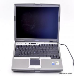 Dell Latitude D610 Laptop Computer with 14 Screen DVD Rom AS IS