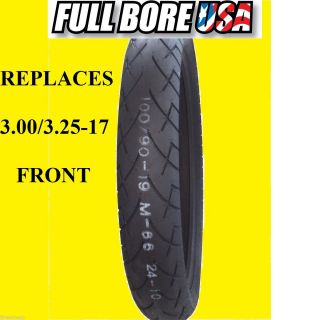 100 80 17 3 00 3 25 17 Front Full Bore USA Touring Motorcycle Tire