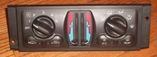 chevy impala monte carlo oem heater a c climate control