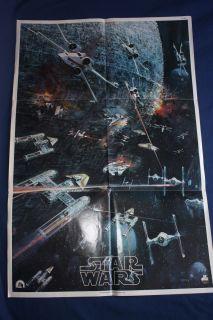 Star Wars 1977 20th Century Fox Records Insert Poster (Rare)