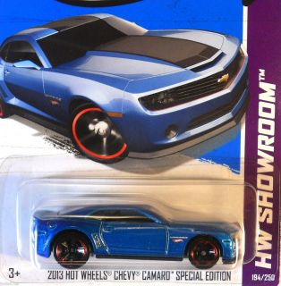 Hot Wheels 2013 HW SHOWROOM   2013 HOT WHEELS CHEVY CAMARO SPECIAL