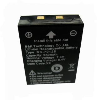 ion Lithium ion Rechargeable Battery 950mAh for 2 Way Radios