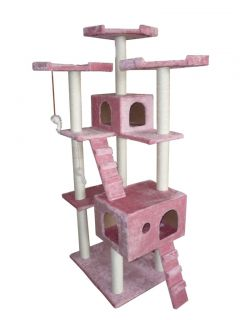 73 Cat Tree Condo Furniture Scratch Post Pet House 1P
